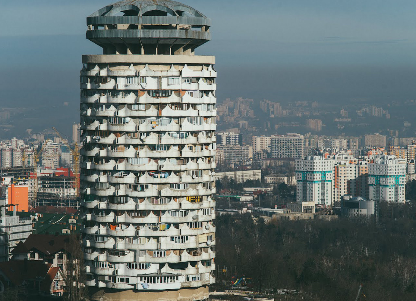 Eastern Bloc architecture: monolithic housing blocks | part 7