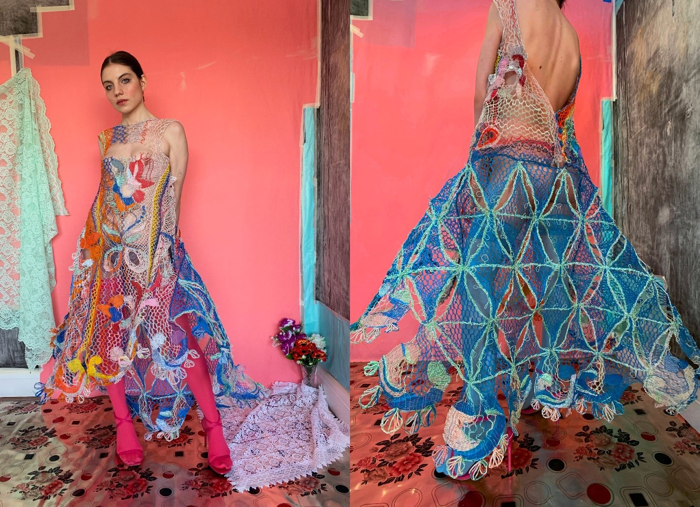 Livewire: the Romanian designer making dresses out of used electrical cables
