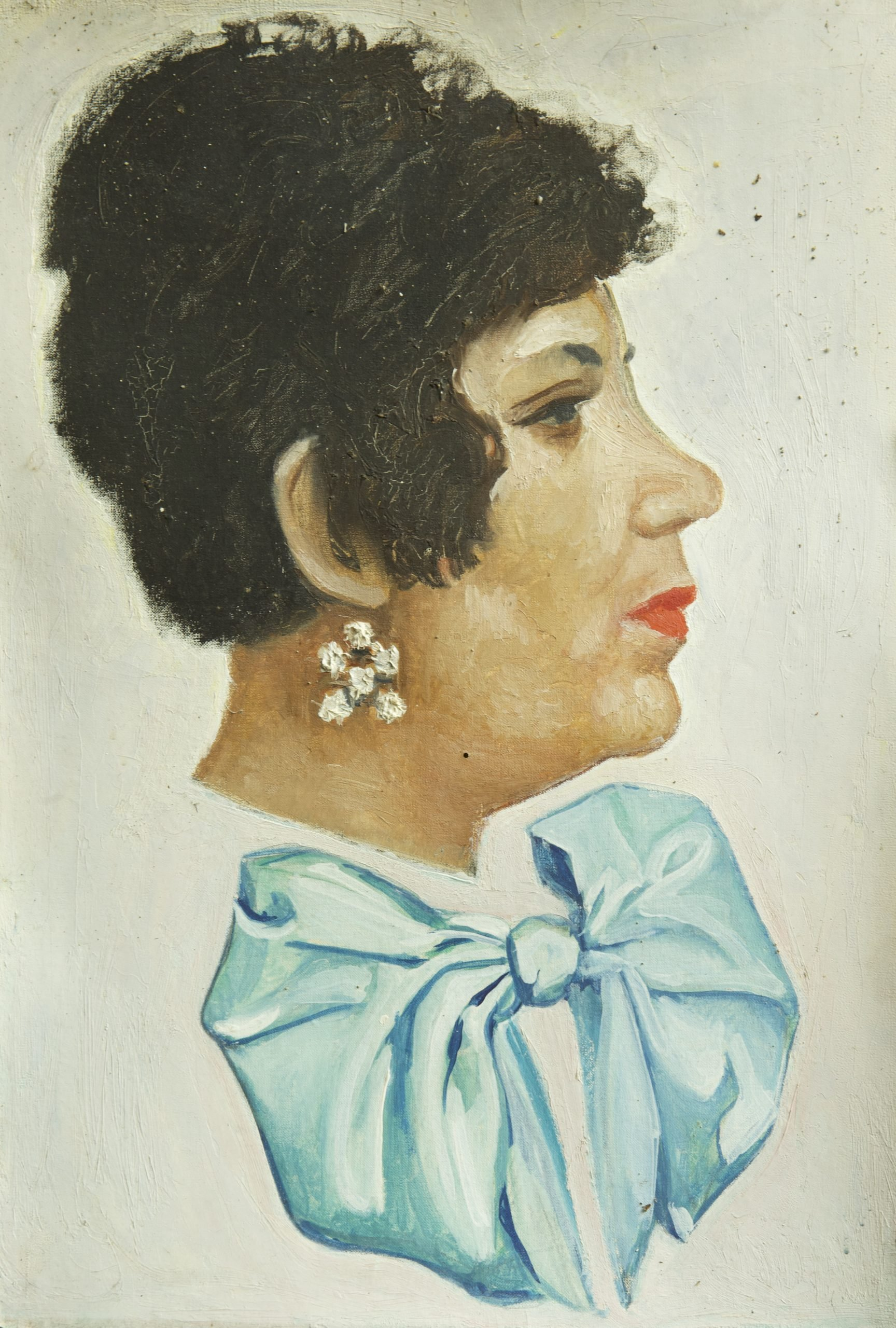 Portrait of Lidia Istrati, 1978