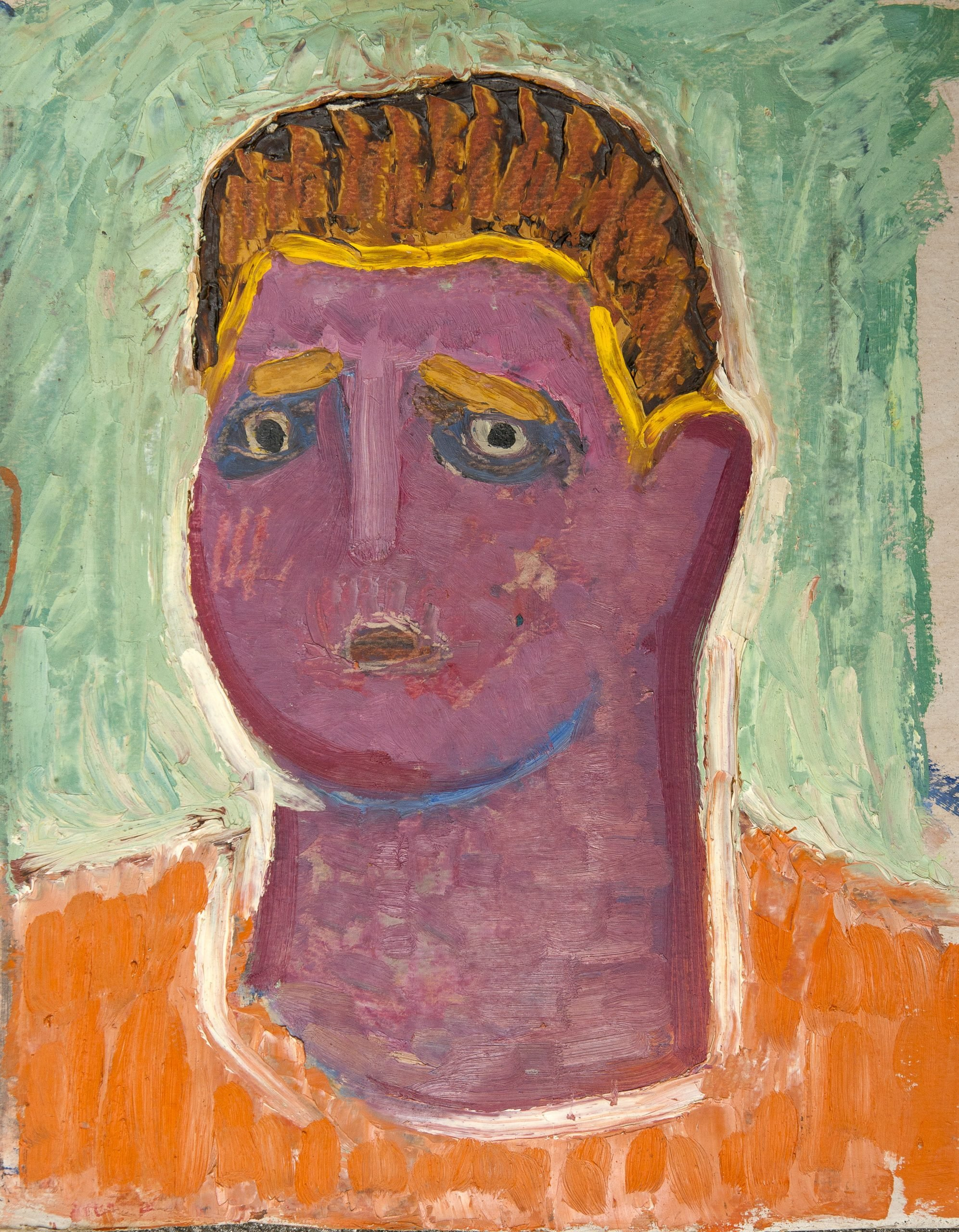 The Portrait of Andrei Lupan, 1960-70