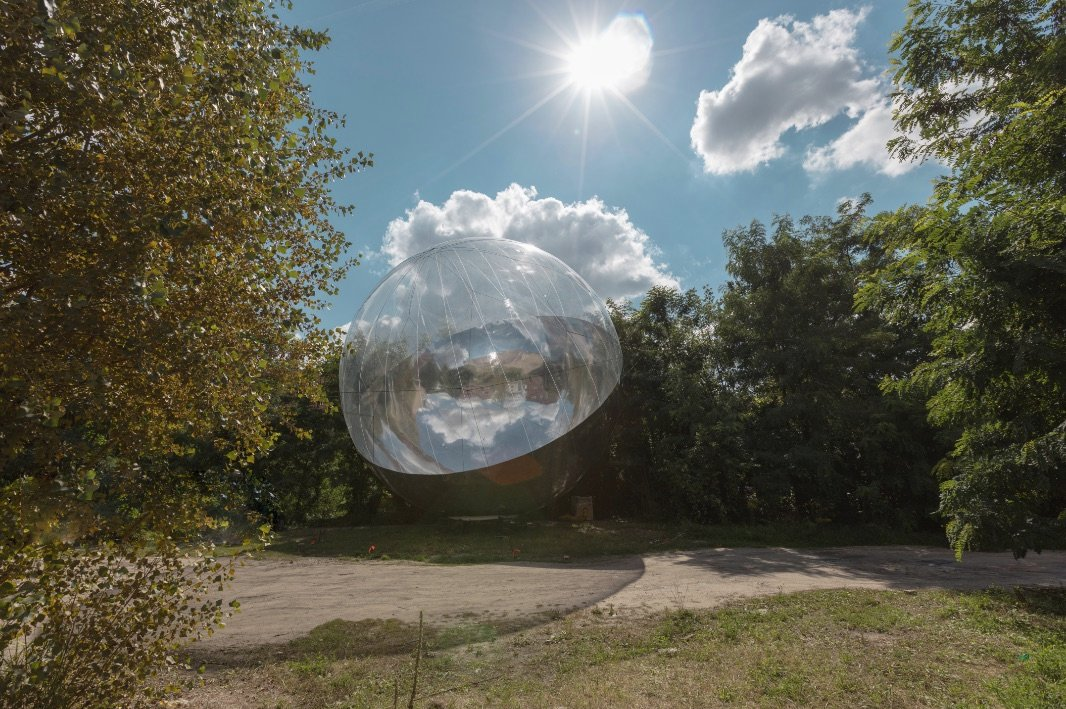 Image: Moving Atmospheres by Tomas Saraceno