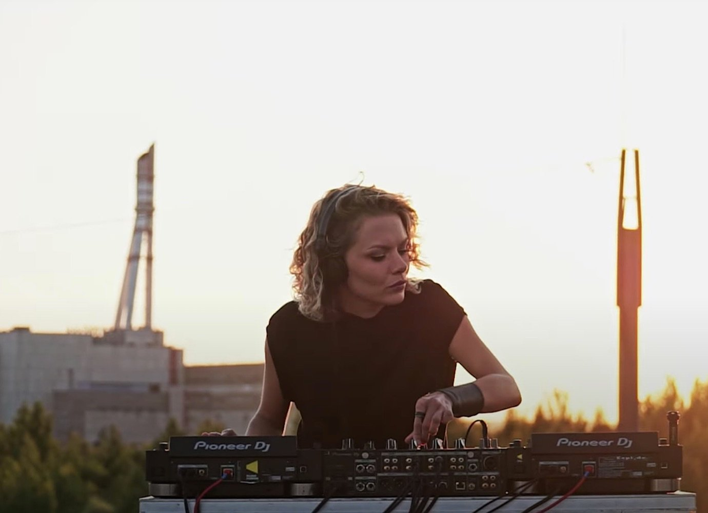 Listen to a one-hour techno set from the top of Chernobyl's sister nuclear power plant