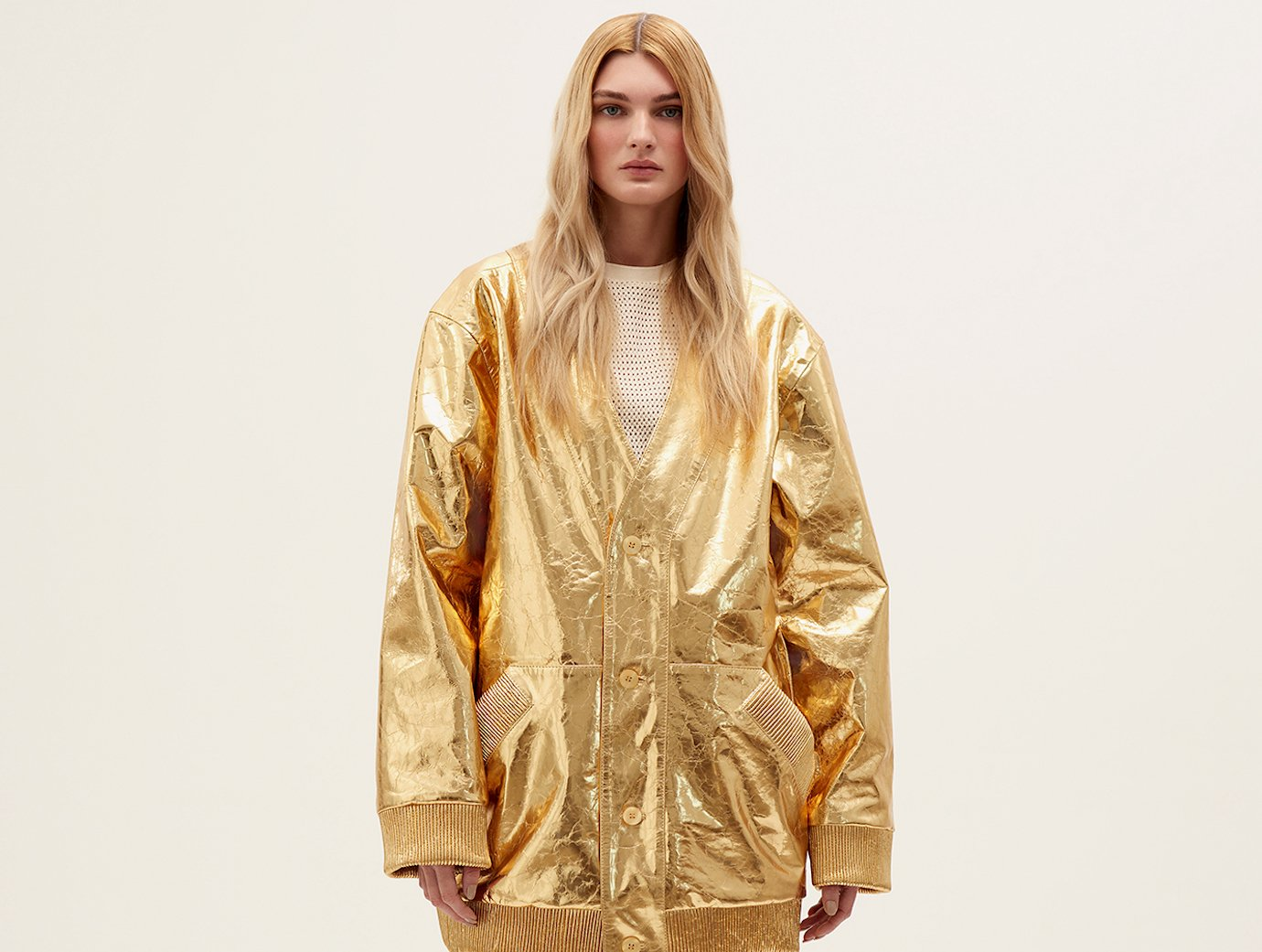 All that glitters: get your hands on sparkling leather jackets by Ukrainian brand Kulakovsky