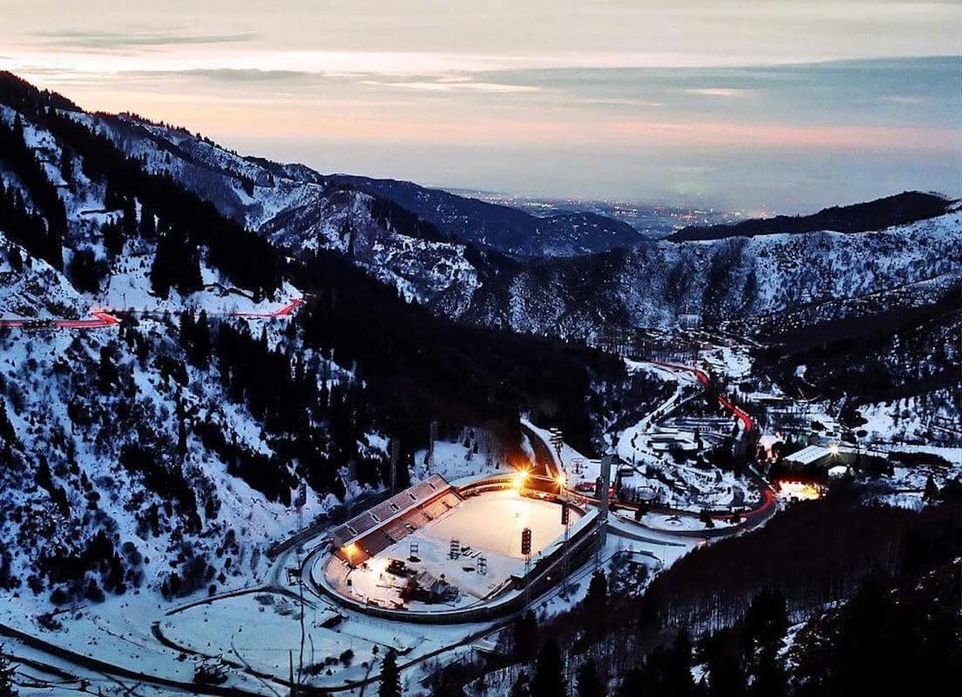 Kazakhstan's Medeu open-air stadium hosts one of the highest ice rinks in the world | Concrete Ideas