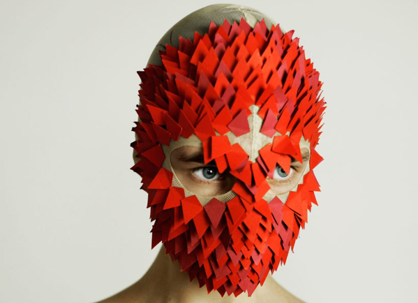 The fashion designer making masks inspired by tech, body parts and Siberian myths