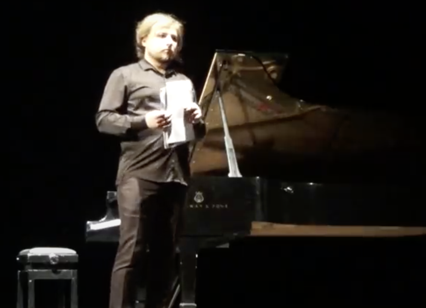 Novosibirsk pianist speaks out against repression