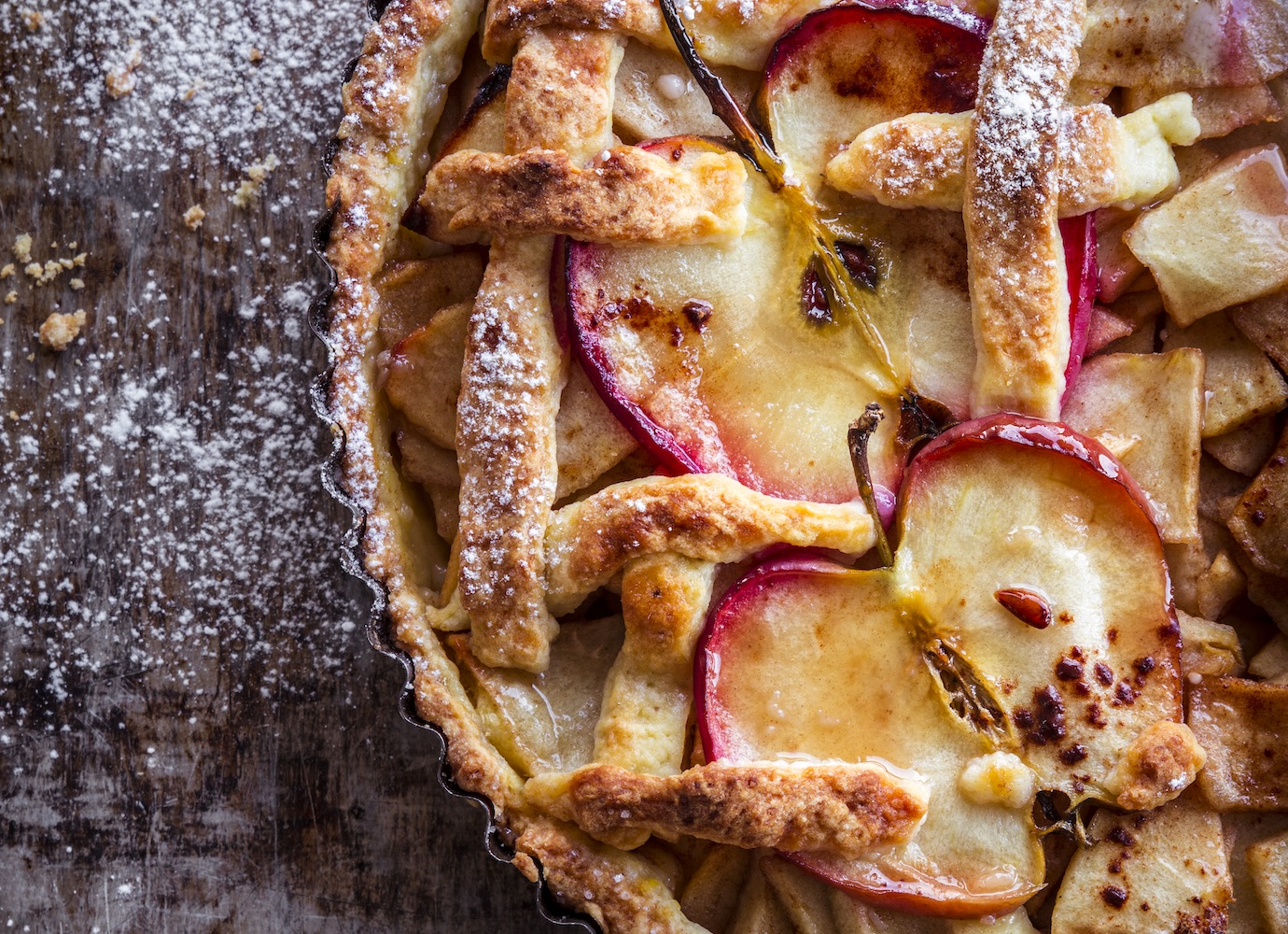 Bake it till you make it: Polish photographer wins top food photo prize for apple pie shot