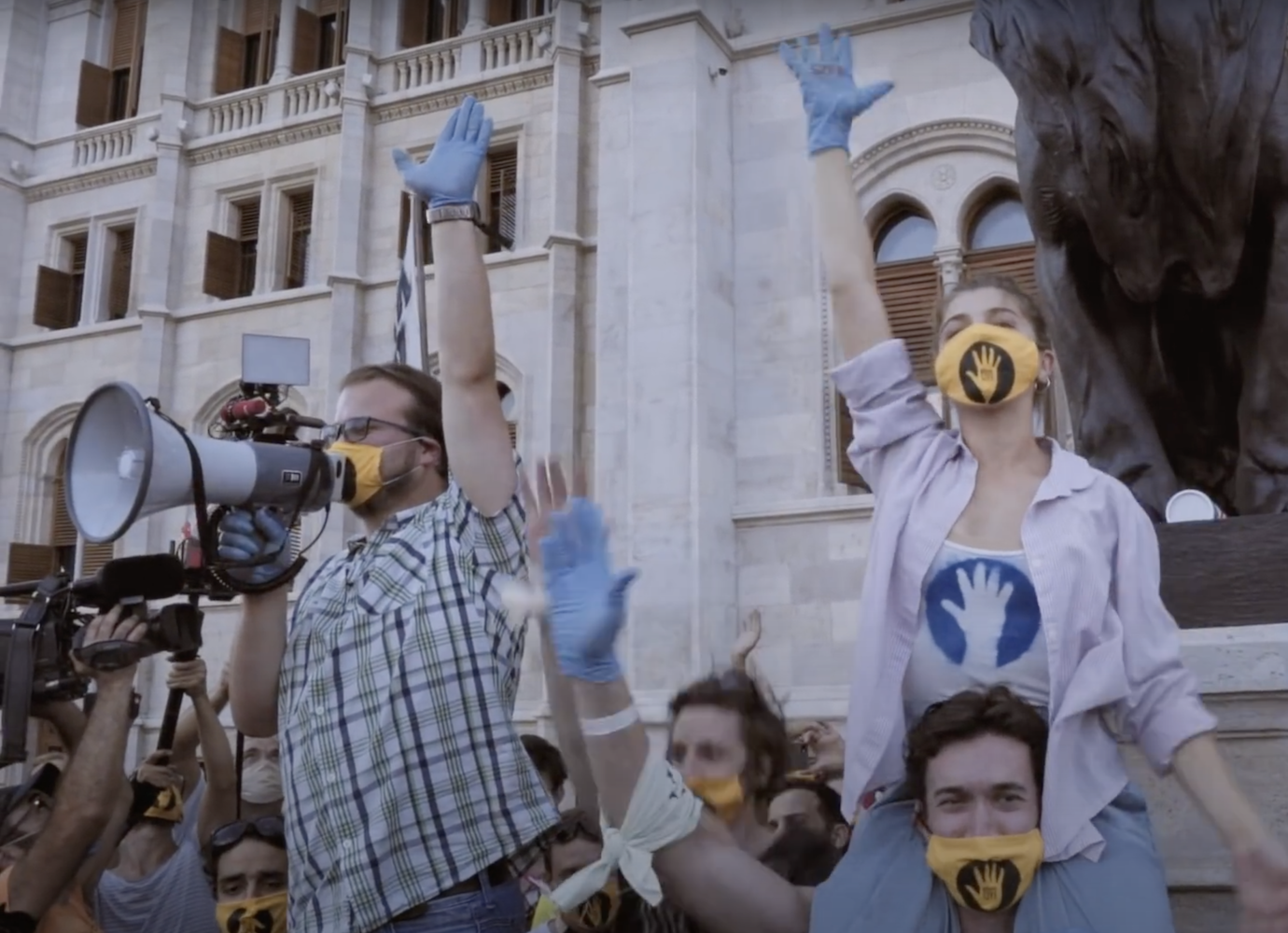 Watch the documentary capturing the dissidence of Hungary's 2020 student blockades