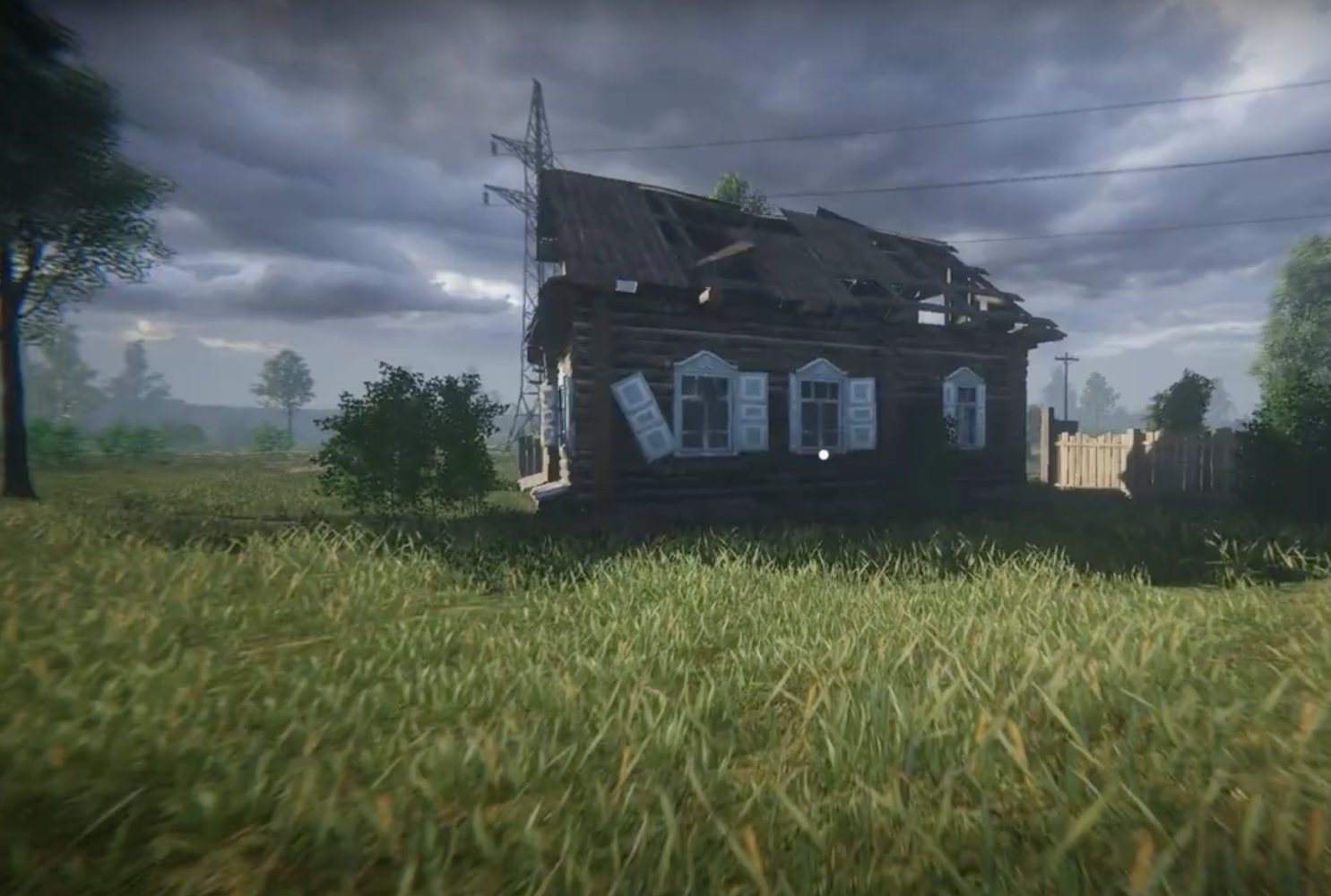 This video game simulates the loneliness of a Russian village