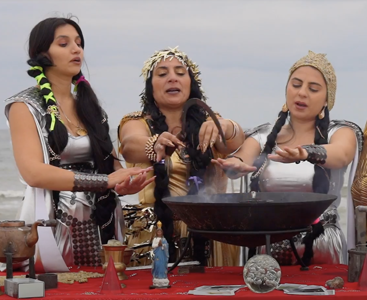 Roma witches against racism: watch ritual spells intended to heal historical trauma online