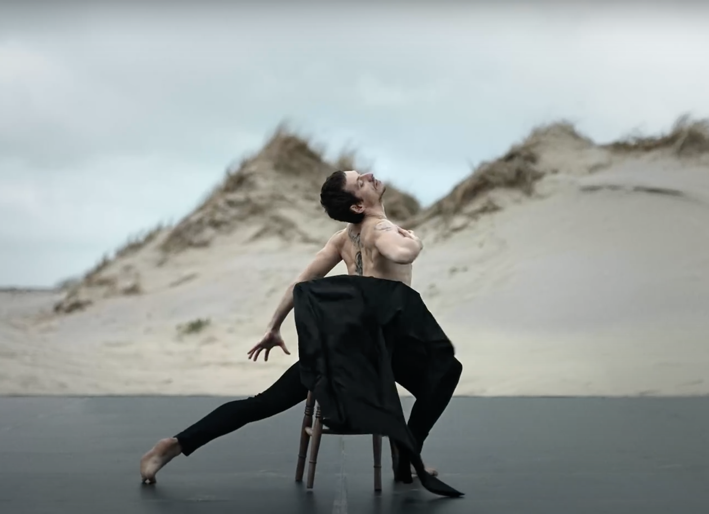 Sergei Polunin returns to the screen withnew clip dancing to Depeche Mode