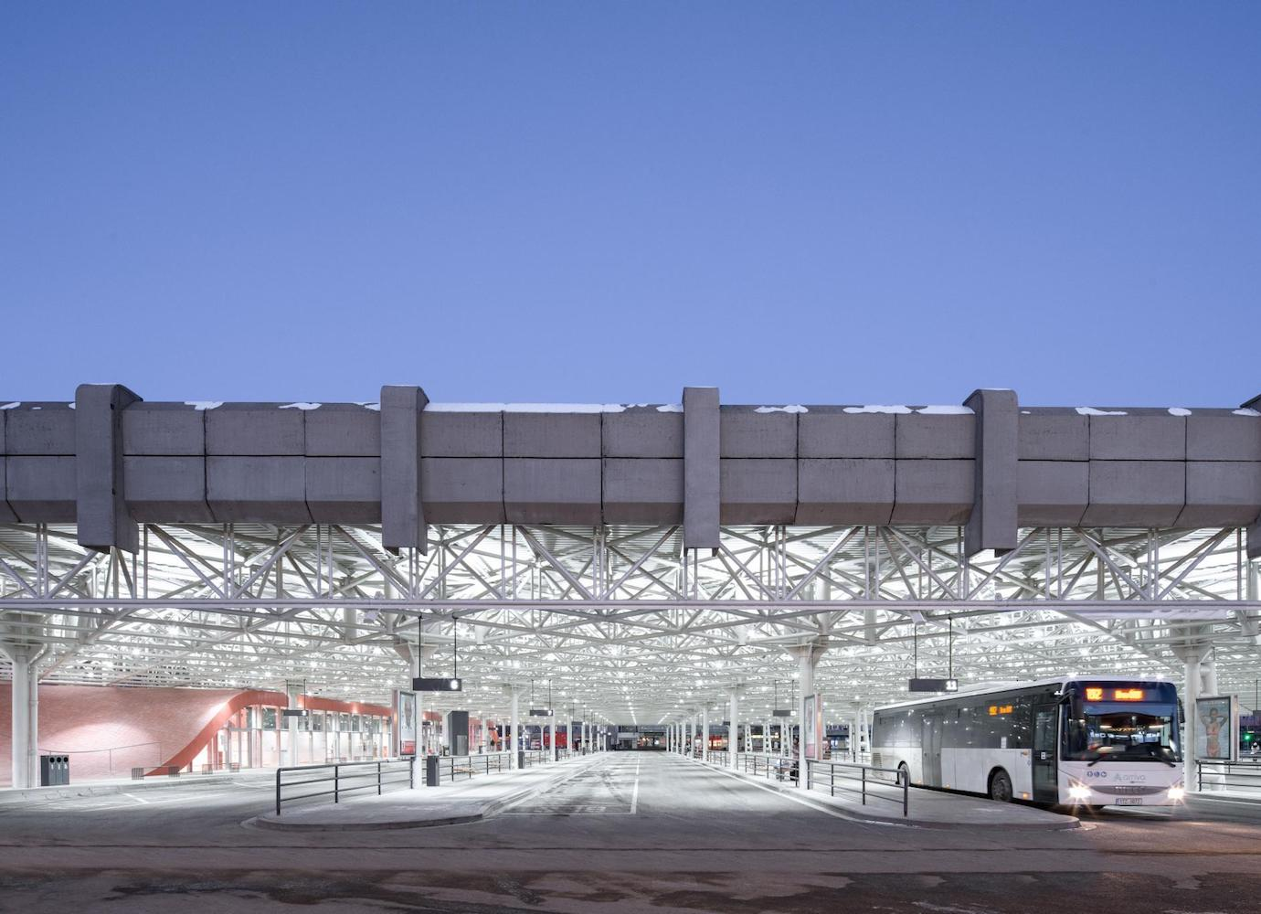 Brno's brutalist bus station reopens for new journeys | Concrete Ideas