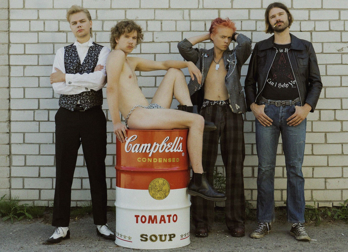 Soup Can Pop Band is a reflective and riotous album by Estonian indie rockers The Boondocks