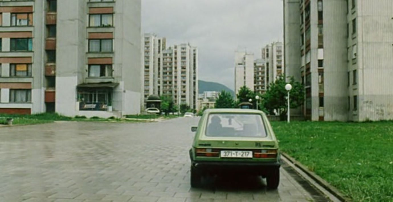 Opening shot from Days and Hours (2004), dir. by Pjer Žalica. Image: European Film Awards