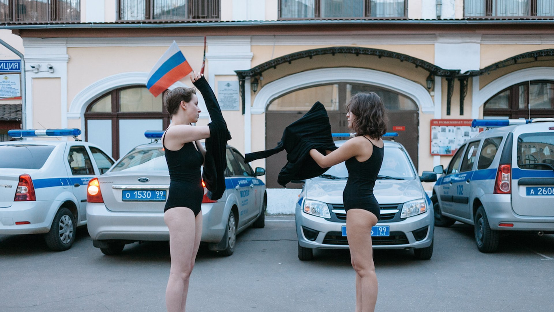 6 subversive Russian artists battling power, capitalism, and catastrophe