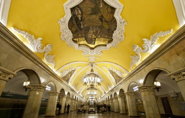 Buried treasure: Owen Hatherley on the splendour of the Moscow Metro