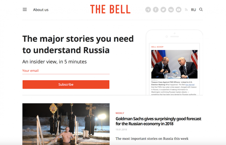 The Bell: meet the Russian media start-up fighting for the precarious future of independent media