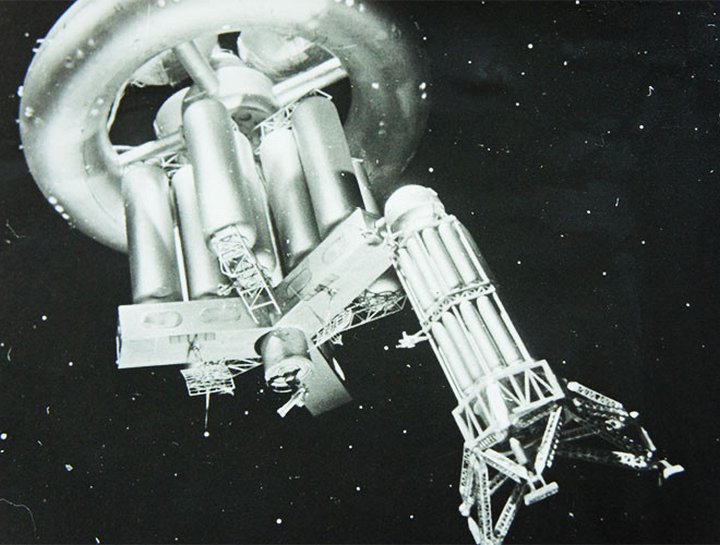 Still from <em>Road to the Stars</em> (1957)