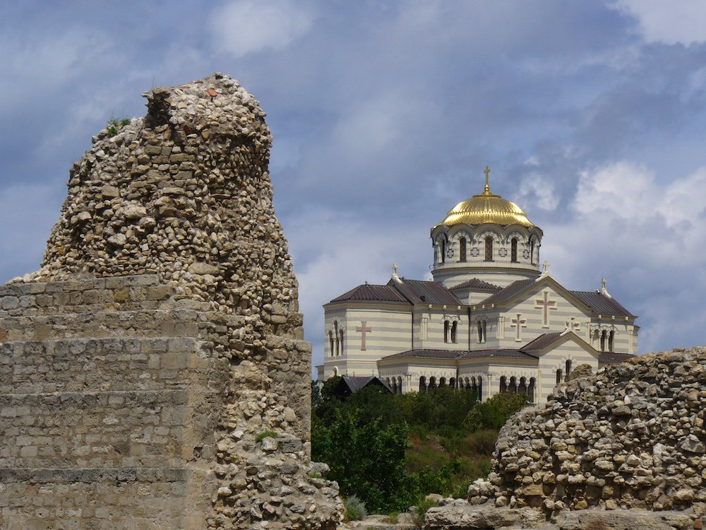 Cathedral of Saint Vladimir in Chersonesus. Photograph: George Chernilevsky