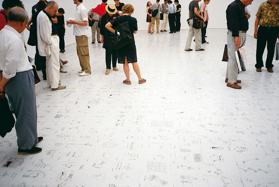 Exhibition view at Venice Biennial, Romania Pavillion, (1999)