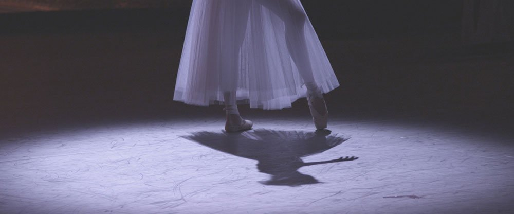 Anastasia Meskova dances solo at the Bolshoi