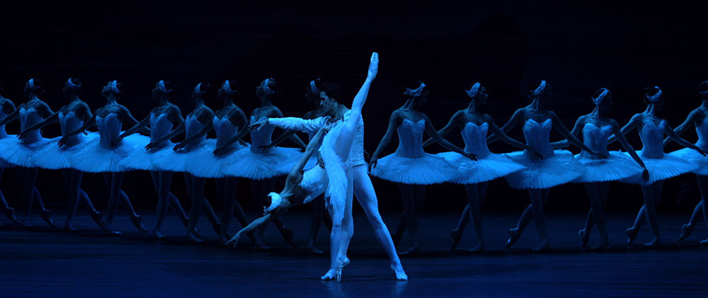 Maria Allash performs in <em>Swan Lake</em> at the Bolshoi