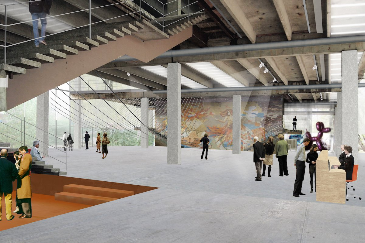 Visualisation of Garage Museum of Contemporary Art: Image: OMA