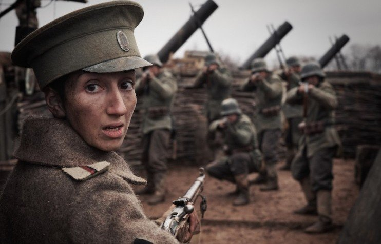 women in uniform can a new russian film about female