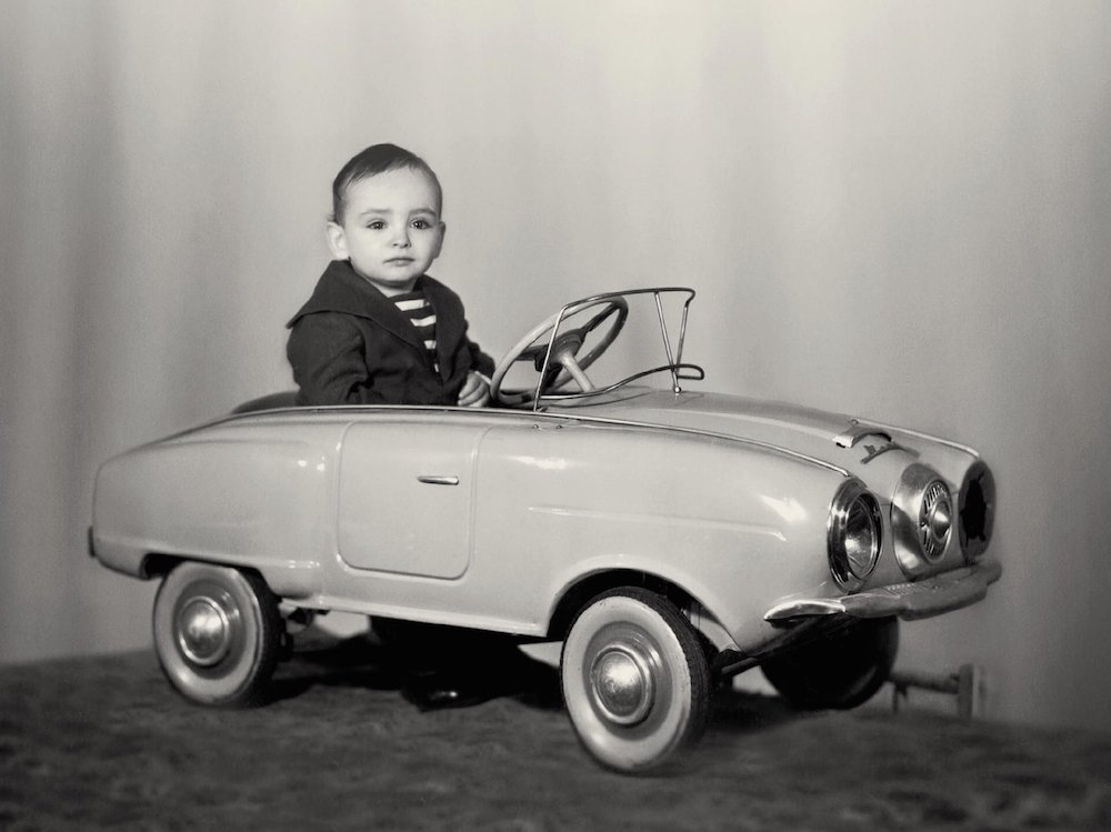 Young Gary Shteyngart. Photograph from the cover of <em>Little Failure</em>, published by Penguin.