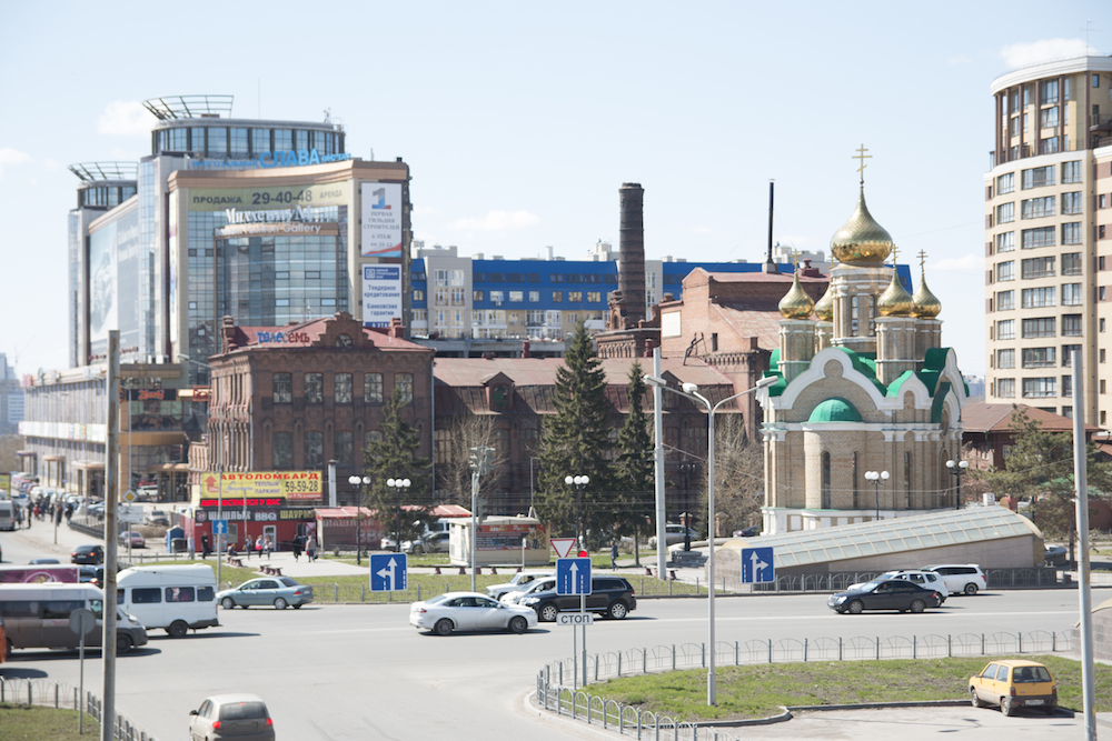 Omsk city centre