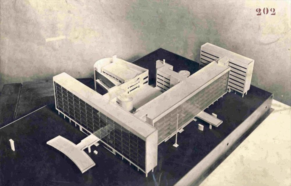 Model of the Tsentrosoyuz building, 1928