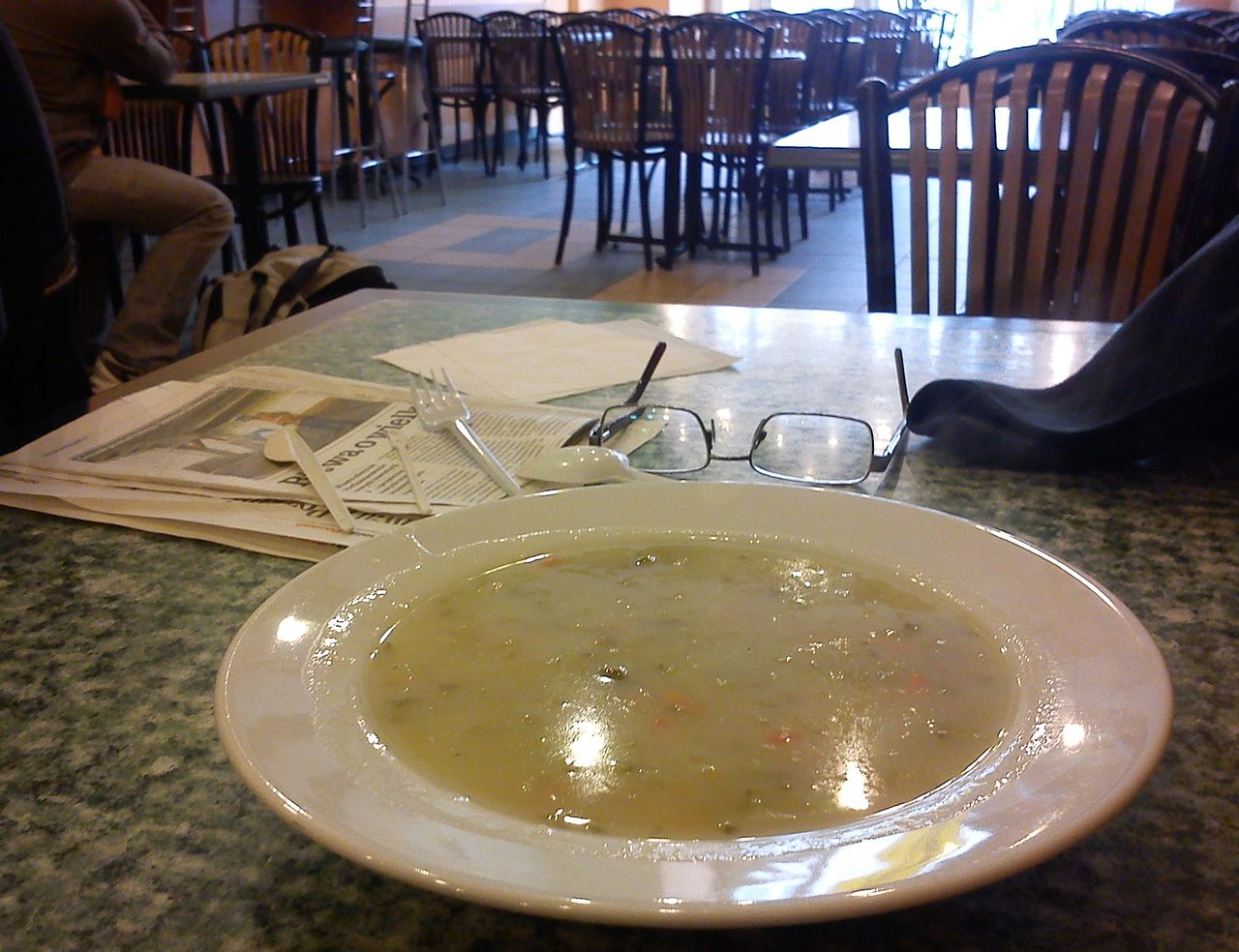 Cucumber soup in a milk bar, Poznan, Poland (Image: MOs810 under a CC licence)