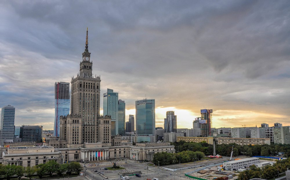 Palace of Culture and Science, Warsaw (Image: Jorge Láscar under a CC licence)