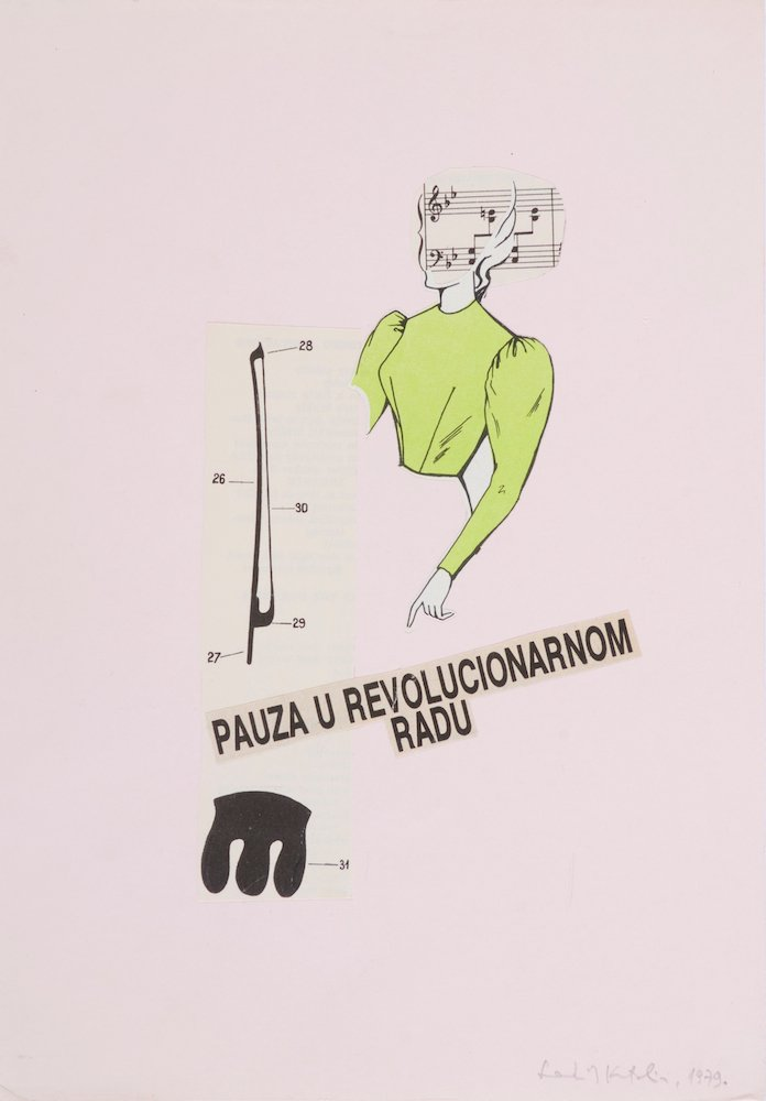 Katalin Ladik, <em>Pause in Revolutionary Work</em>, 1979