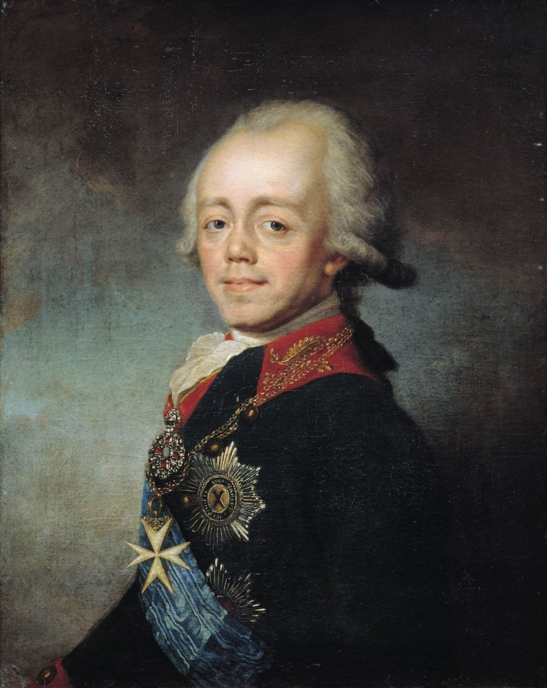 Emperor Paul I of Russia by Stepan Shchukin