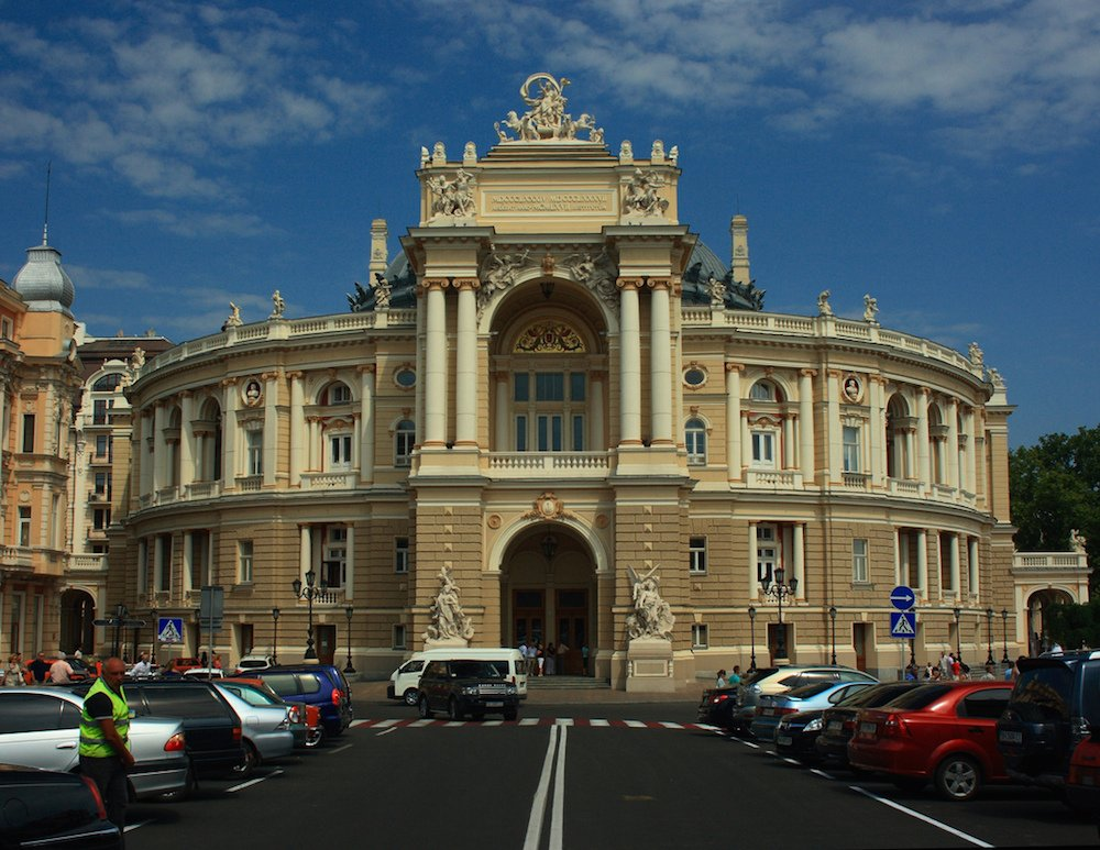 Odessa Opera and Ballet Theater. Image: dmytrok under a CC licence