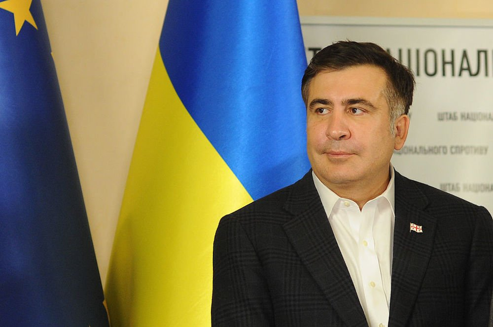 Mikheil Saakashvili on a visit to Ukraine in 2013. Mstyslav Chernov/Unframe under a CC licence