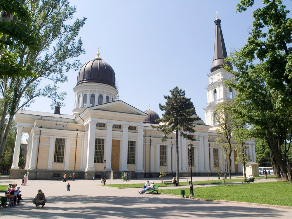Transfiguration Cathedral, Odessa. Image: Alexostrov under a CC licence