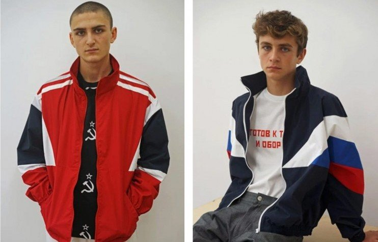 cyrillic - heron preston, gosha, vetements