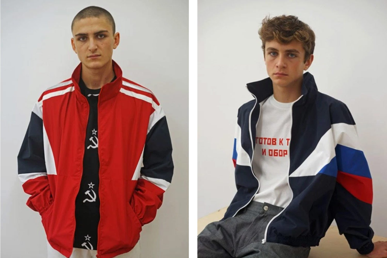 From Gosha Rubchinsky's Spring/Summer 2016 collection