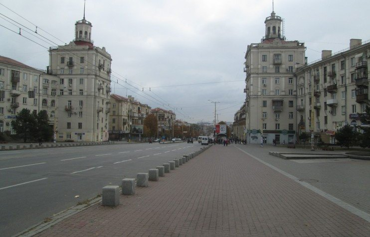 Zaporizhia buildings