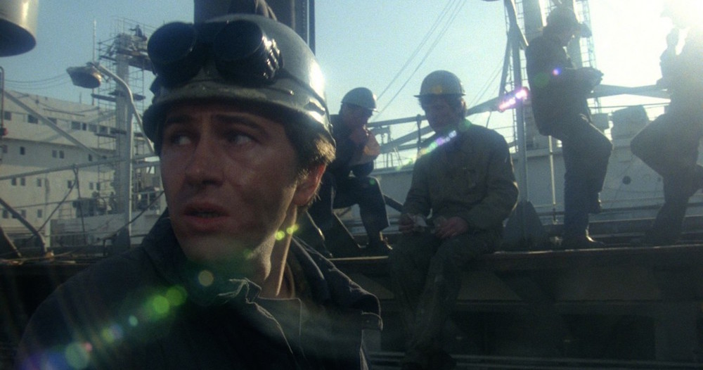 Still from <em>Man of Iron</em> (1981)