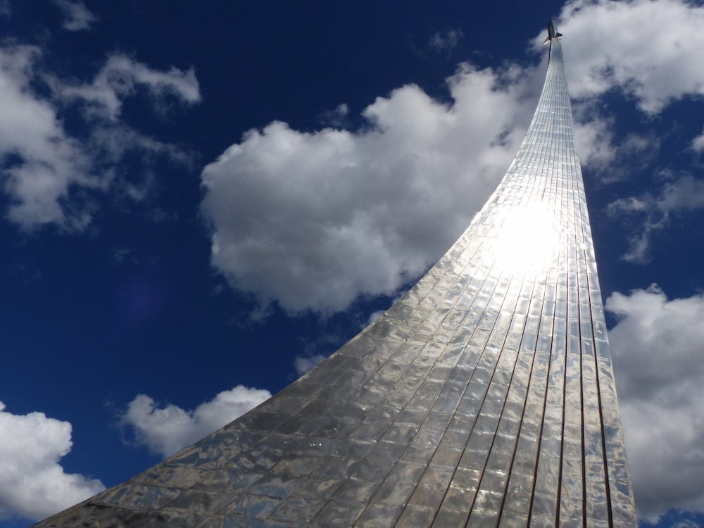 Monument to the Conquerors of Space (image: Benjamín Núñez González under a CC licence)