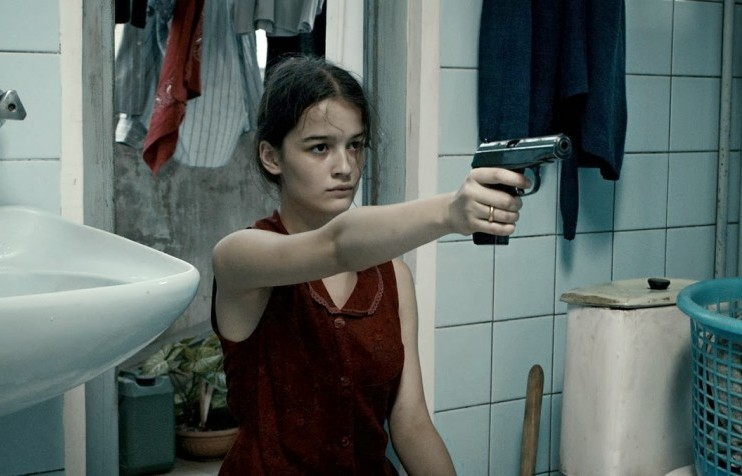 Still from <em>In Bloom</em>, dir. Nana Ekvtimishvili and Simon Gross