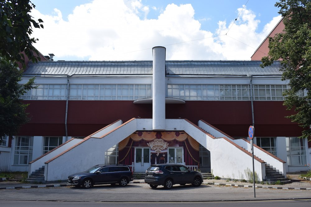 The Svoboda Factory Club, designed by Konstantin Melnikov (1929). Image: Bradley Jardine