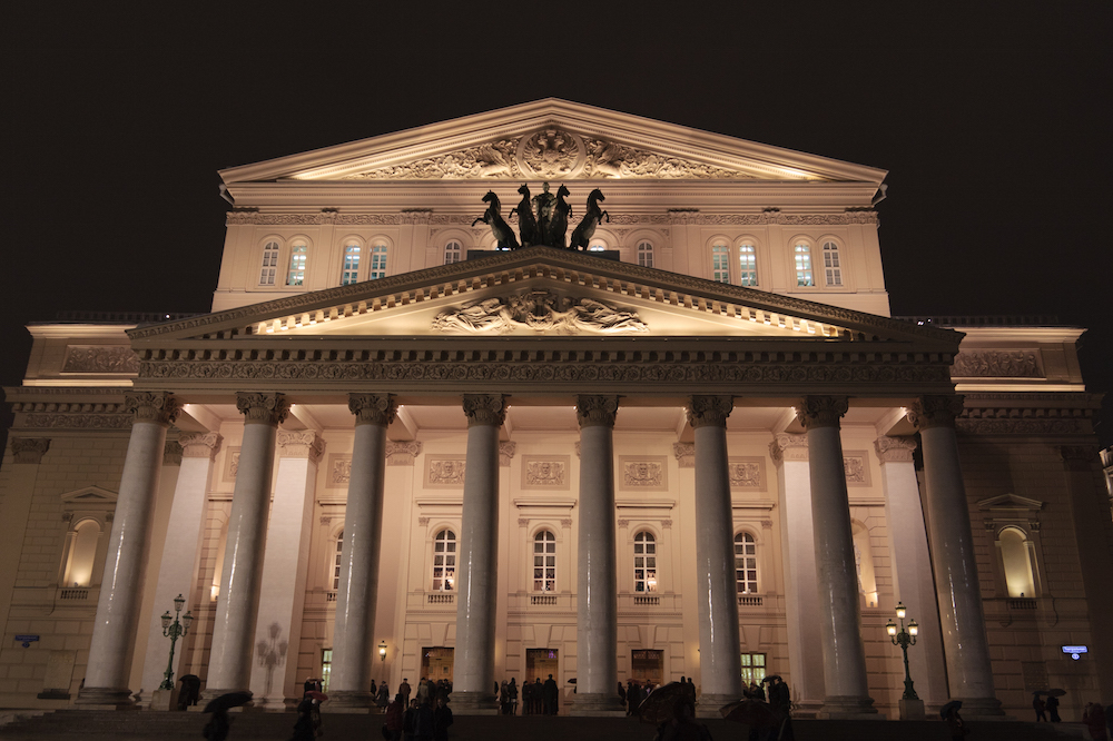 The Bolshoi Theatre. Image: Jeremie R under a CC licence