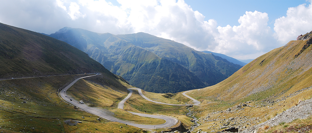 The Transfăgărășan. Image: Travel&Photo under a CC licence
