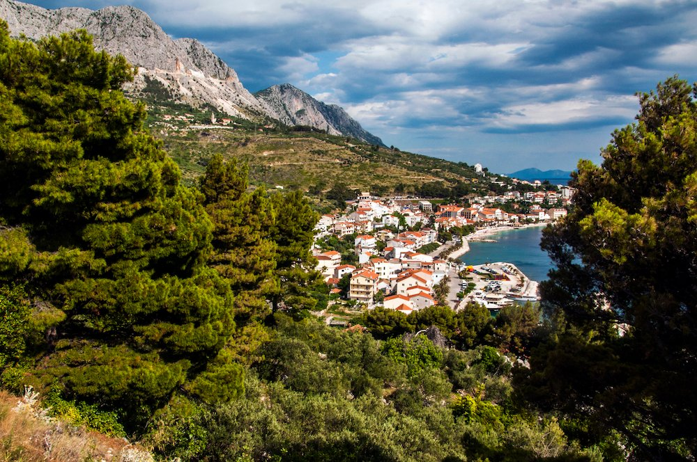 Podgora on Croatia's Dalmatian Coast. Image: Chris Bentley under a CC licence