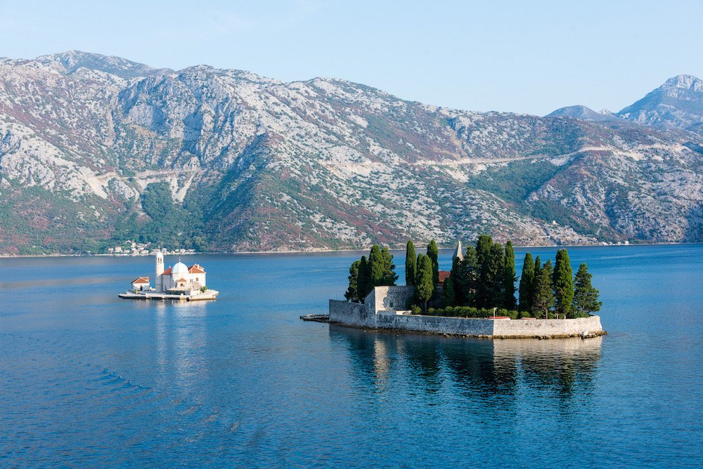 Our Lady of the Rocks in Montenegro's Bay of Kotor. Image: MikePScott under a CC licence
