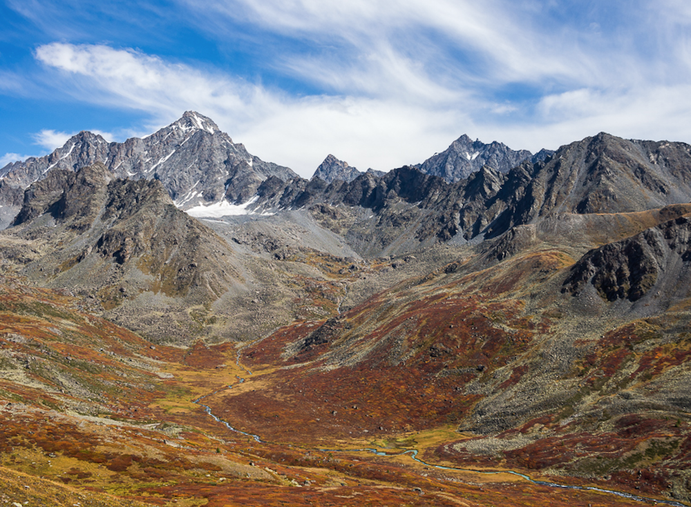 The peak of Brat mountain in the Altay. Image: distantranges under a CC licence